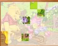 Sort My Tiles Pooh and Piglet online